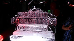 100B Ice Sculpture